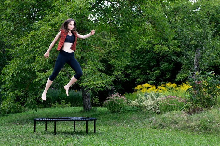 best mini trampoline rebounder